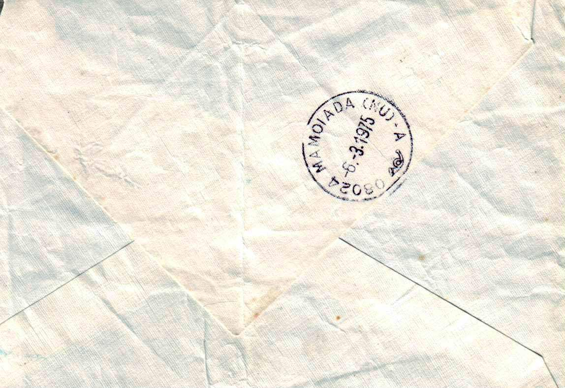 lettera di stalking a Mamoiada negli anni '70