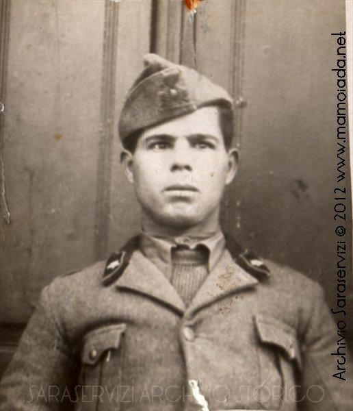 Paracadutista Francesco Muggittu