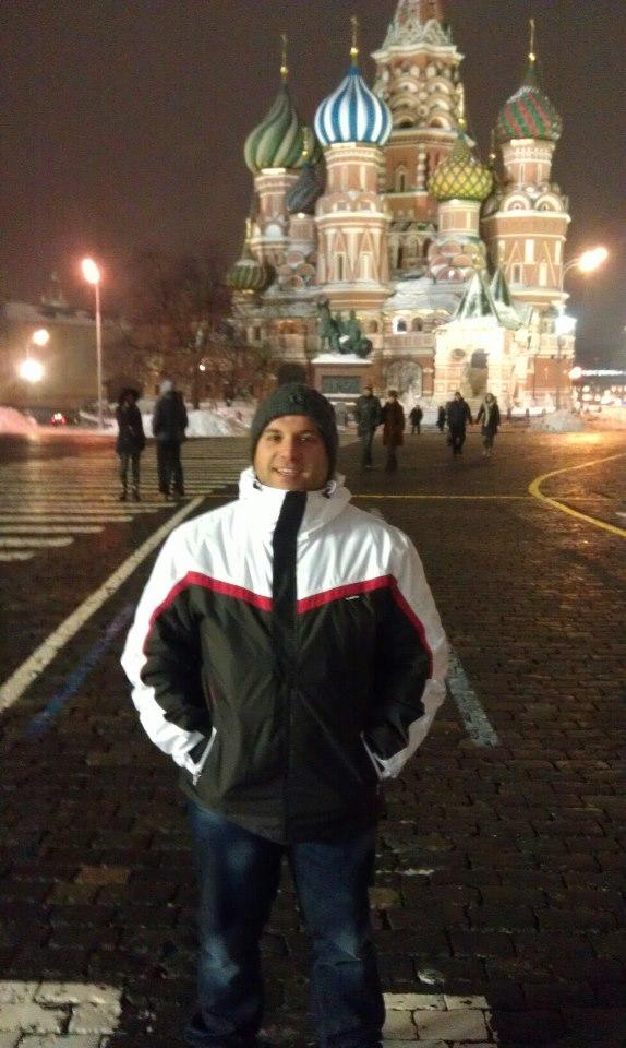 Mauro Ladu a Mosca