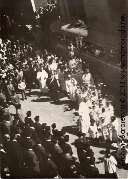 processione di pasqua anni 60