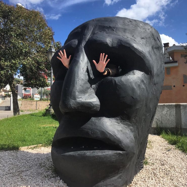 Mamoiada maschera dei mamuthones