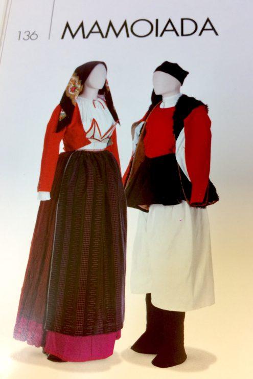 Costume di Mamoiada esposizione di Roma 1911