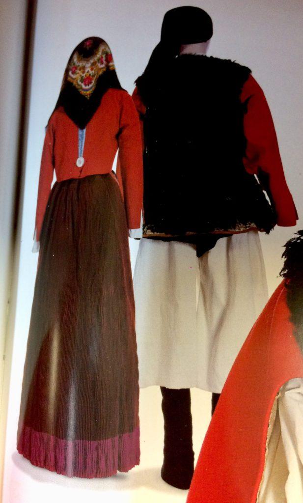 Costume di Mamoiada Roma 1911