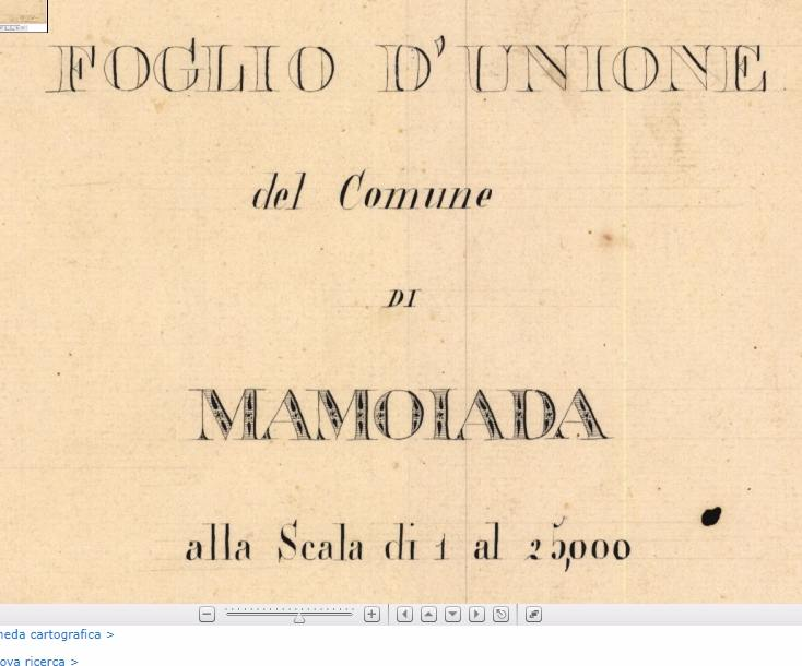 copertina foglio d'unione Mamoiada