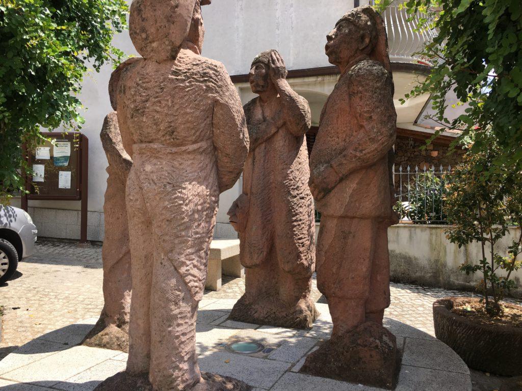 Statua Tenores Mamoiada