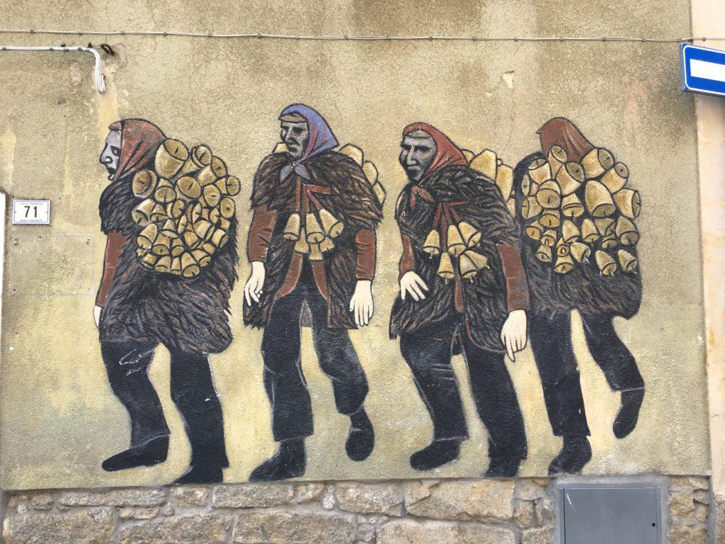 Murales Mamuthones Mamoida