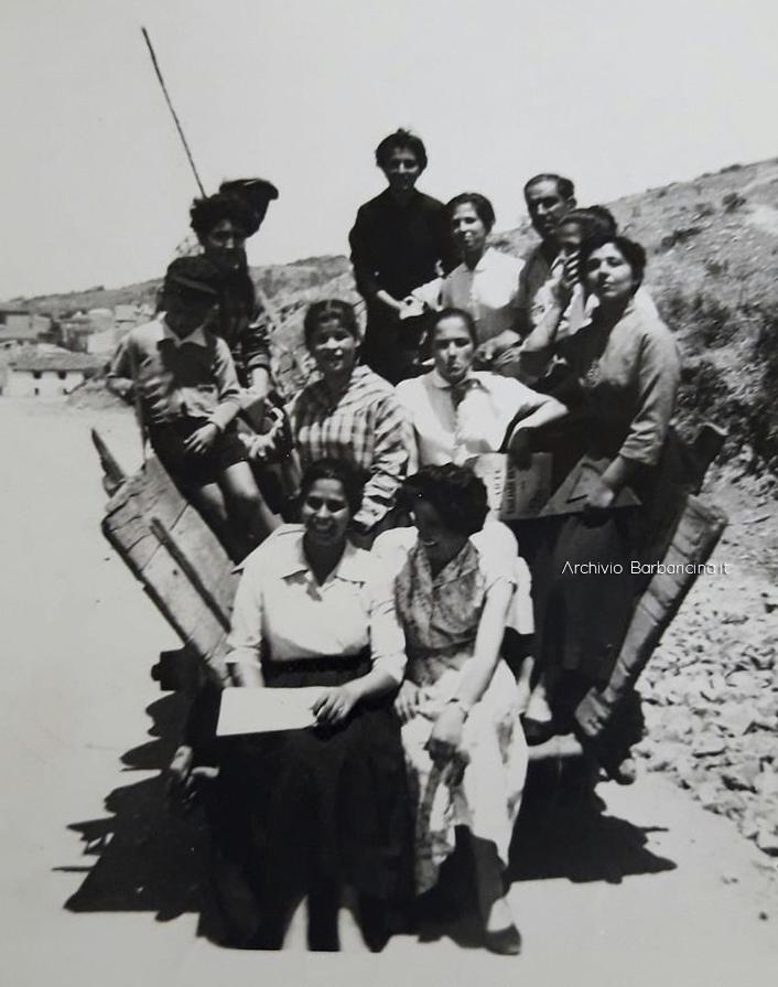 corso di cucuto Mamoiada 1955