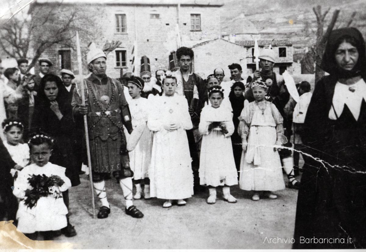 Gosos della Settimana Santa a Mamoiada con registrazione audio eseguita nel 1959 archivio teche rai.